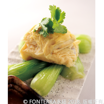 【Dion McGrath】福氣魚乳酪捲 Steamed Hoki Fish in Bean Curd Skin<br>