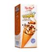 冰淇淋,牛奶,奶油,鹽味焦糖巧克力,帝紐冰淇淋,甜筒,冰紐角
